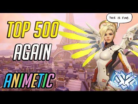 Top 500 maining Mercy, again! - Season 14 - Overwatch thumbnail