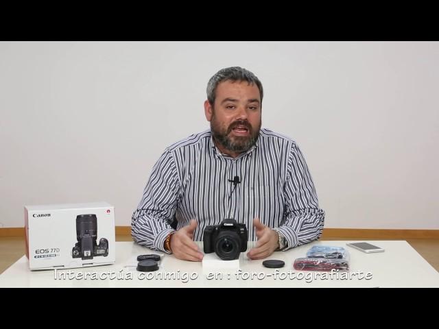 Canon EOS 77D Cuerpo | Canon EOS