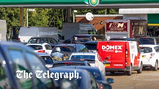 video: Ministers 'gaslighting the public' with claims fuel crisis is under control