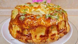 Такой хлеб Вы точно полюбите Обезьяний хлеб цыганка готовит Gipsy cuisine