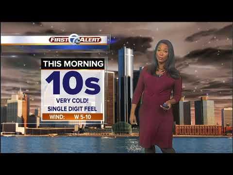 Metro Detroit Weather: Winter Storm Warning begins at 10am