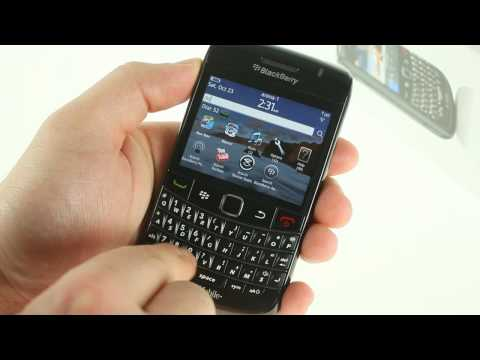 BlackBerry Bold 9780 hands-on