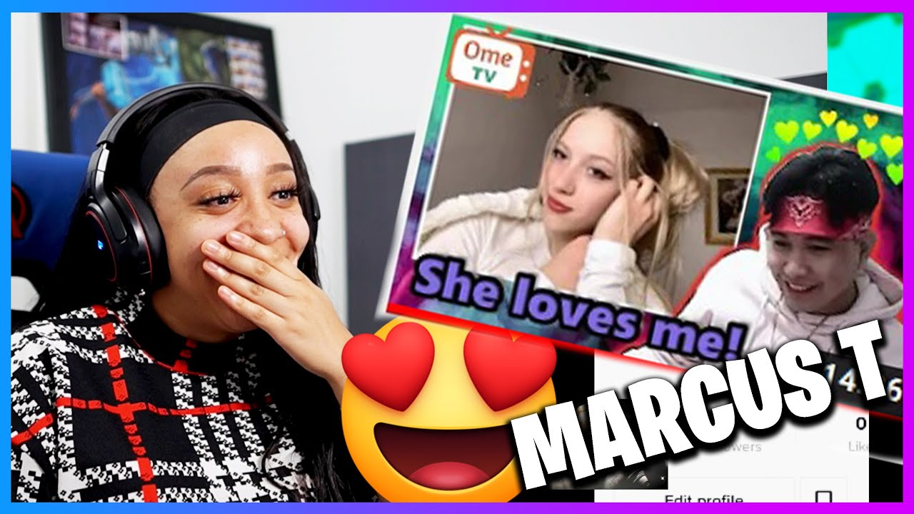 I THINK I'M IN LOVE - MARCUS T | OMEGLE | OMETV | REACTION!