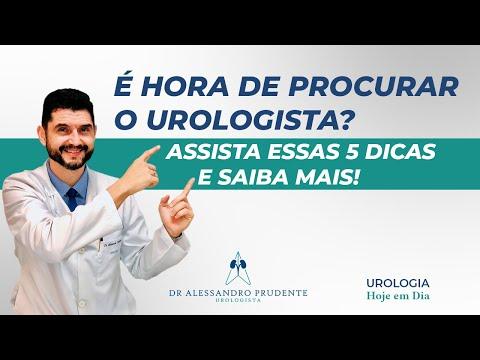 É hora de ir ao urologista? Assista essas 5 dicas e saiba mais!!