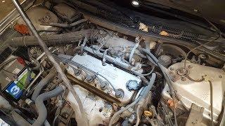 Honda Accord 99 замена прокладки клапанной крышки / valve cover gasket replacement