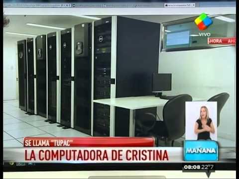 Tupac la supercomputadora de Cristina