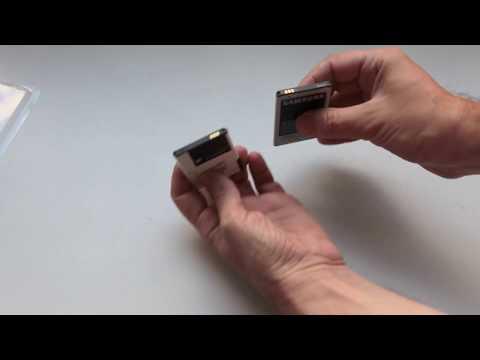 Розпакування Акумулятор PowerPlant Samsung B7300, i8910, S5800 з Rozetka.com.ua (DV00DV6078)