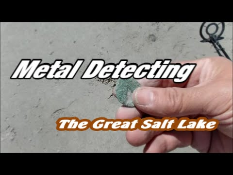 Metal Detecting The Great Salt Lake