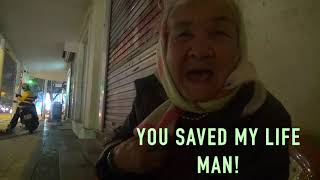We saved her life! Christian help for elderly homeless woman