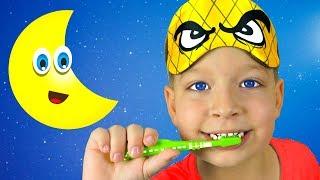 Вечерняя рутина Перед Сном - Детские песни - Макс и Песни для детей