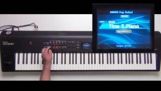 Roland RD-800 - How to add effects to EP - Part 2 - Delay
