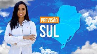 Previsão Sul - Instabilidade atua na Região