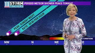 Good skies for Perseid meteor shower