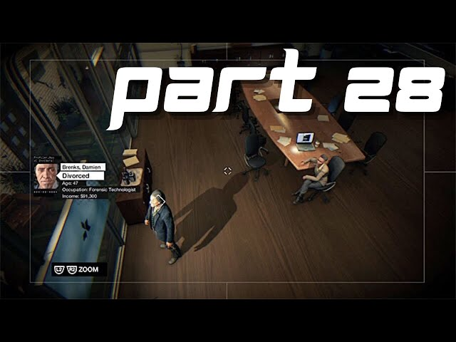 Watch Dogs Gameplay part 28 - The future is in bloom