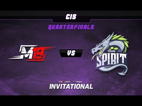 M19 vs Spirit Game 2 - SL-i Invitational: CIS Qualifier Quarterfinals - @LyricalDota @EosinDota