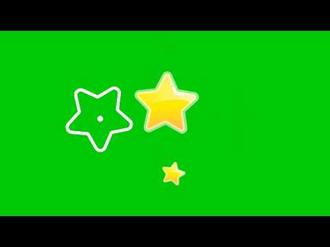 GREEN SCREEN STAR ANIMATION