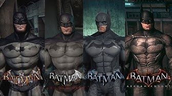 The evolution of Batman Arkham series