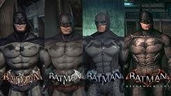 The evolution of Batman Arkham series