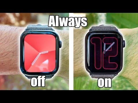 Apple Watch Series 5 (44mm) Always On Display NEW WatchFaces.