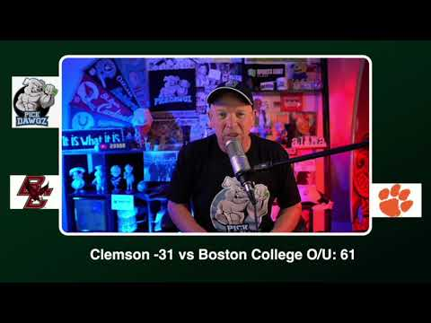 Boston College vs Clemson Free College Football Picks and Predictions CFB Tips Saturday 10/31/20