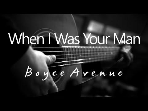 When I Was Your Man - Boyce Avenue Fifth Harmony ( Acoustic Karaoke )