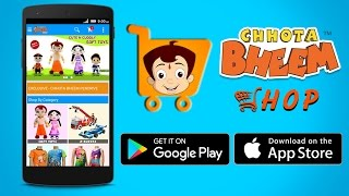 Chhota Bheem Shop App now avai..