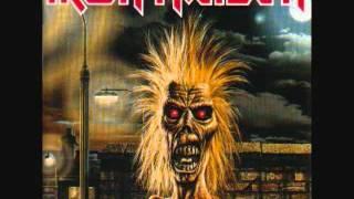 Iron Maiden-sanctuary With Lyrics
