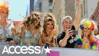 Nene Leakes, Teresa Giudice and More 'Real Housewives' Join Andy Cohen at Pride Parade