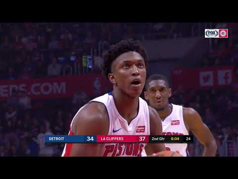 Stanley Johnson Full Game Highlight VS Los Angeles Clippers (9Points,4Rebounds)