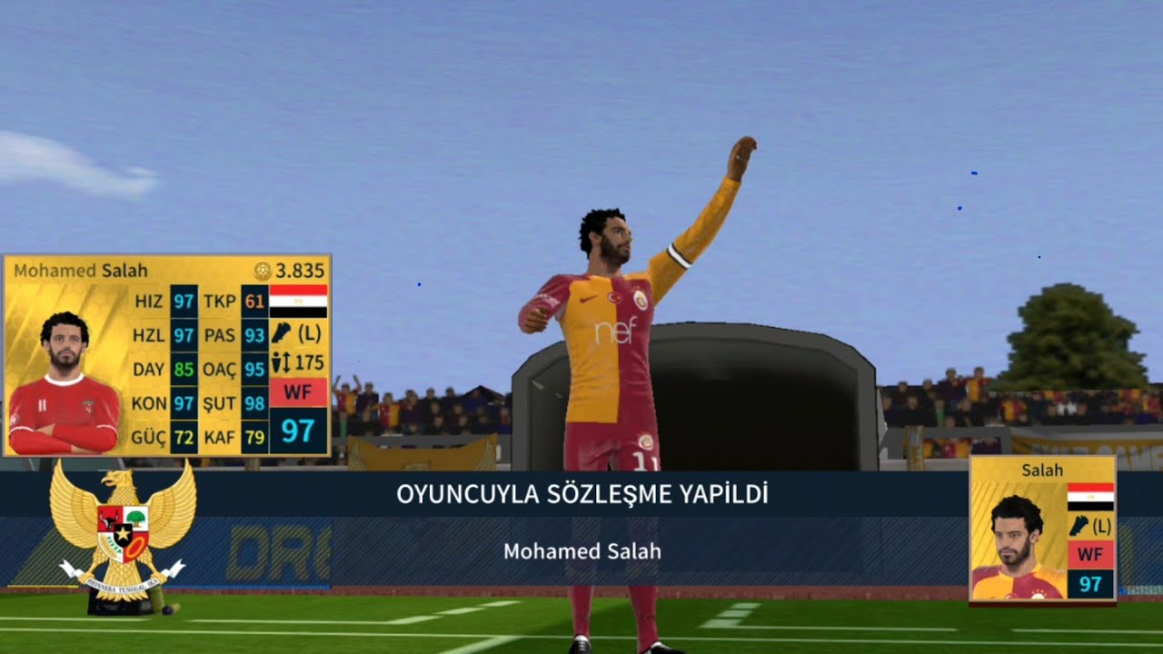 REKOR TRANSFER SALAH !! DREAM LEAGUE SOCCER 2019 [TÜRKÇE]
