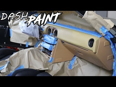 Painting The Dash Of The Rally Miata