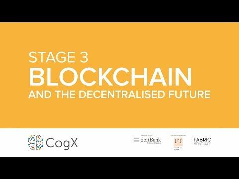 Day 1 CogX 2018 - Blockchain