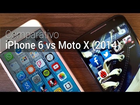 Comparativo: iPhone 6 vs Moto X (2014) | Tudocelular.com
