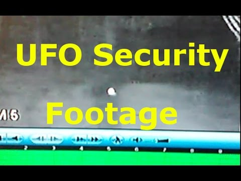 UFO Orb Caught by Security Camera Lands on the Ground Monroe Maine