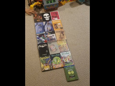 Cartoon network and adult swim dvd collection part 2