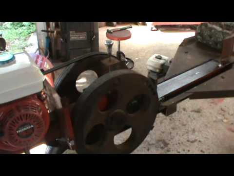 mechanical log splitter