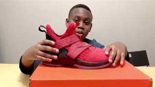 LeBron James Soldier 12 review by little bro