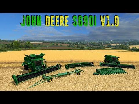 Mod Showcase   John Deere s690i v1 0