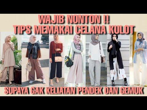 #KAMTIP || Tips Memakai Celana Kulot Agar Tidak Terlihat Pendek Dan Gemuk | Tanty Rahayu