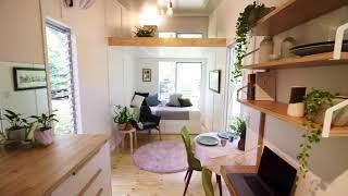 'Swallowtail' tiny house, by The Tiny House Company