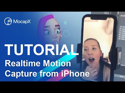 Quick Start - MocapX tutorial - real-time facial mocap from iPhone to Maya