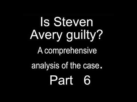 Making A Murderer Analysis: Steven Avery Case Part 6