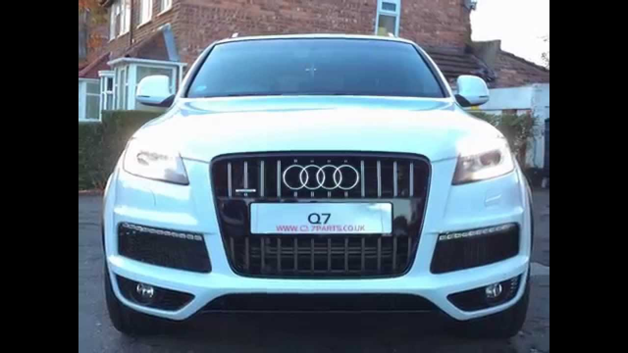 audi q7 retro conversion upgrade from 2006 to 2013 youtube. Black Bedroom Furniture Sets. Home Design Ideas