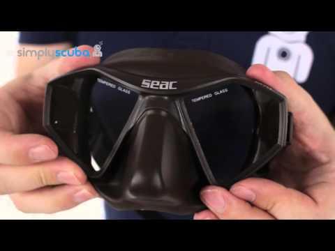 SEAC SUB M70 Mask - www.simplyscuba.com