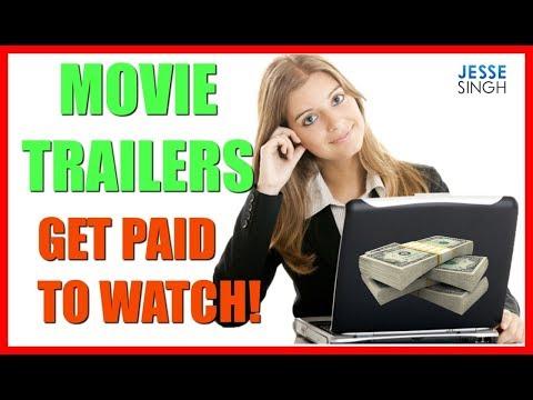 Make Money Online Watching Movie Trailers   Get Paid To Watch Films