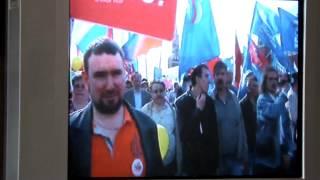 1 мая 2014 года. Демонстрация в Москве, на Красной площади - продолжение 1