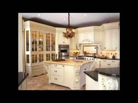 Kitchen Cabinets Styles - Semi Classic Kitchen Cabinet - YouTube