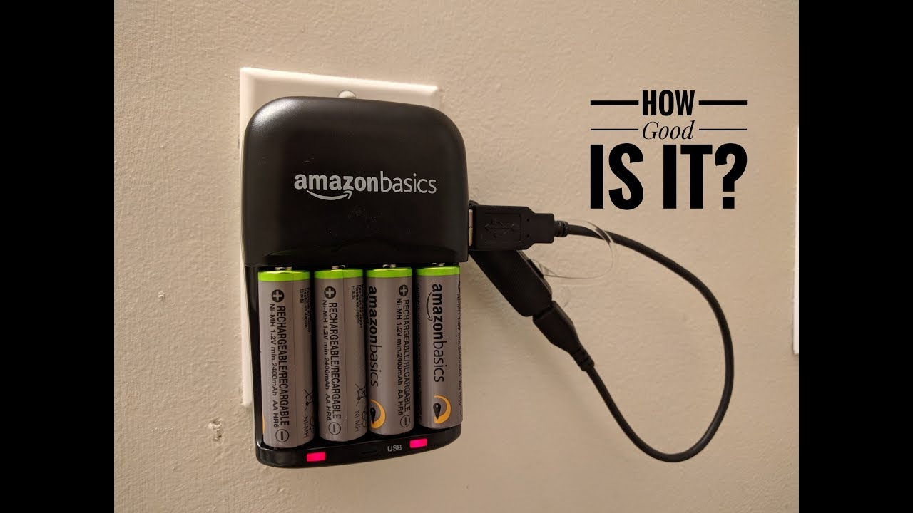 Top 10 Aa Aaa Battery Chargers Of 2020 Video Review