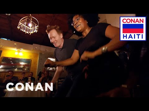 Conan Says Orevwa To Haiti  - CONAN on TBS
