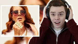 NEVER Listened to LANA DEL REY | Reaction thumbnail